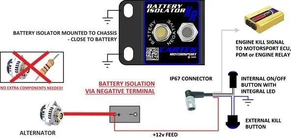 Push Button Battery Isolator Wiring Diagram Better Wiring Diagram
