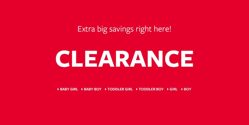 Clearance Kids Clothing Carter\u0027s Free Shipping