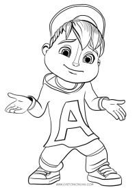 Disegni Alvin Superstar Da Colorare