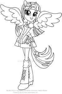 Disegni Da Colorare My Little Pony Equestria Girl VU98 ...