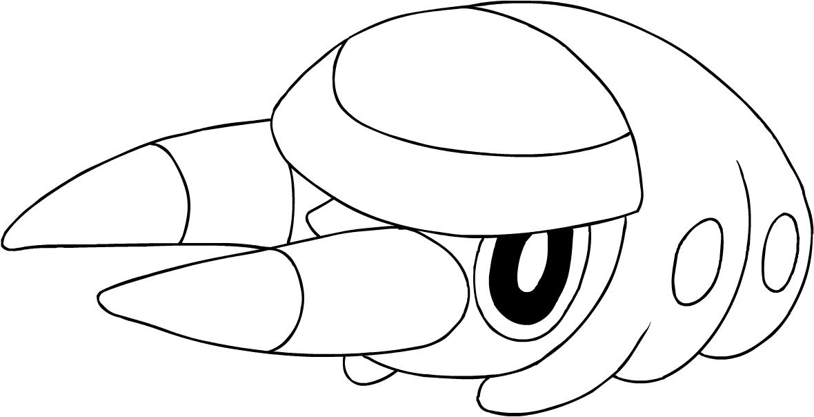 Disegno Di Grubbin Dei Pokemon Sole E Luna Da Colorare