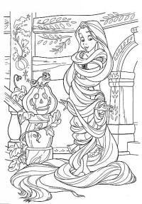 Disegni Di Rapunzel Da Colorare E Stampare Per Bambine ...