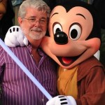 George Lucas and Mickey Mouse