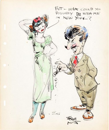 Drawing by Fred Moore