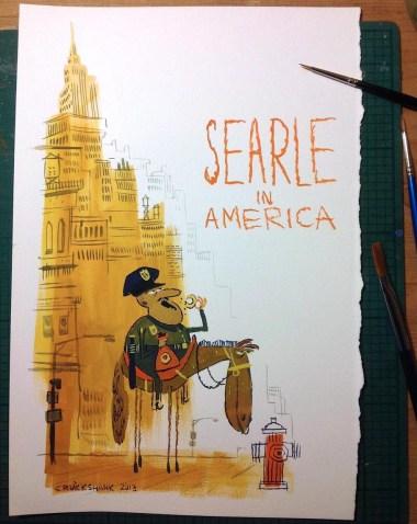 """Searle In America"" by Matt Cruickshank"