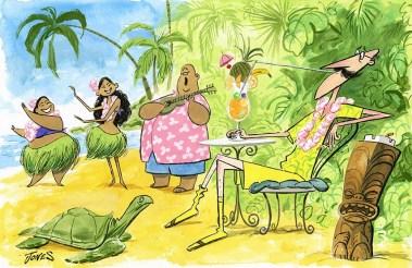 """""""Mr Lemonhart's Hawaiian Vacation"""" by Matt Jones"""