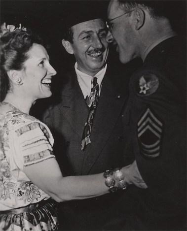 Lilllian and Walt Disney, Frank Thomas