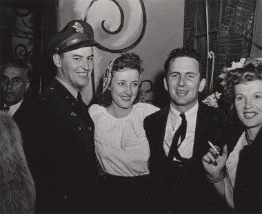 Roald Dahl, Maisy Debney, Hal Adelquist and wife VIva
