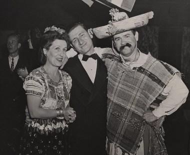 Lillian Disney, James Bodrero and Ward Kimball