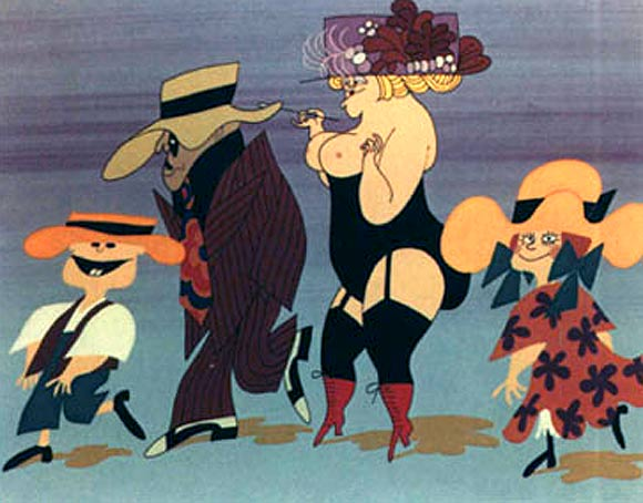 70s animated features for adults