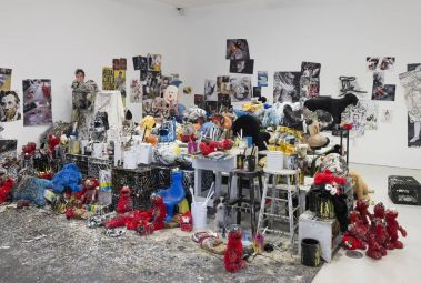 """"""" Joyceland in London 1981-2014,"""" studio accumulation from 1981 to present day."""