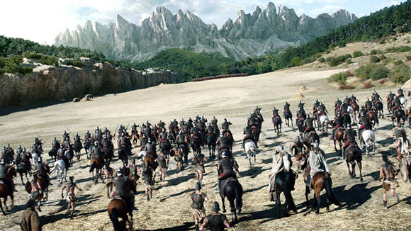 """Cinesite provided visual effects for a major battle sequence in the 2014 feaure """"Hercules."""""""