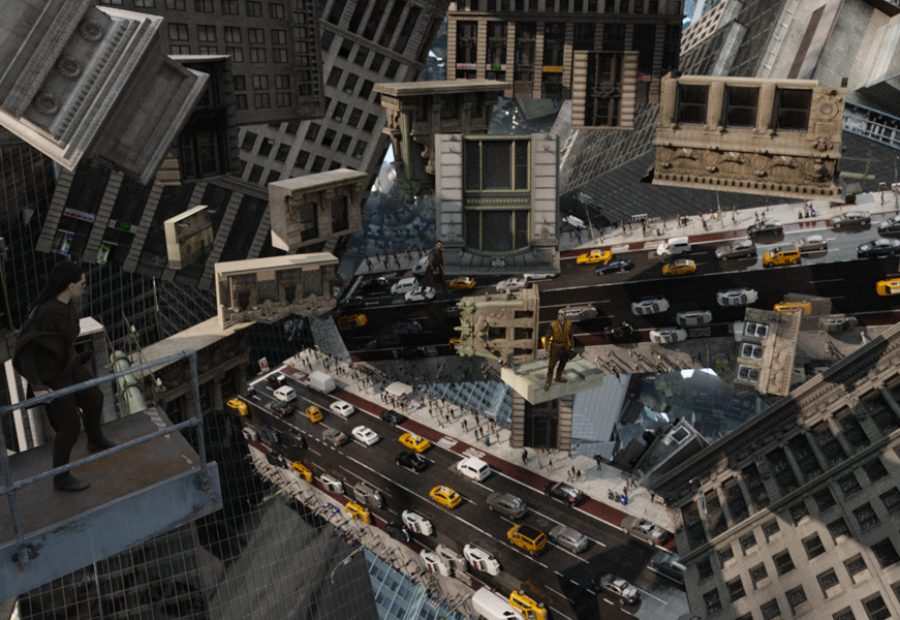 Kobe Bryant Animated Wallpaper How Ilm Made Those Insane Bending Buildings In Doctor