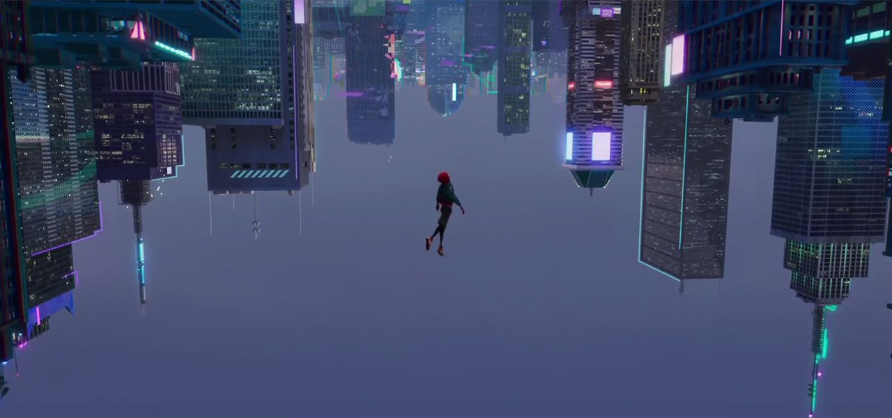 Batman Animated Wallpaper Teaser Spider Man Into The Spider Verse Looks