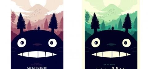 Totoro prints