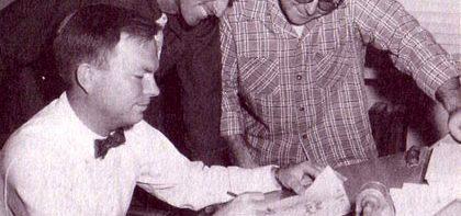 Chuck Jones, Ken Harris and Ben Washam