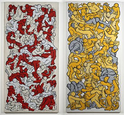 Pat Smith paintings