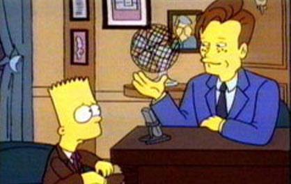 Conan on The Simpsons