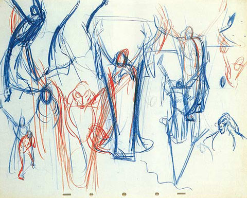 Bill Tytla Drawing