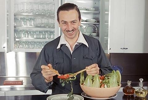 Walt Disney and Salad