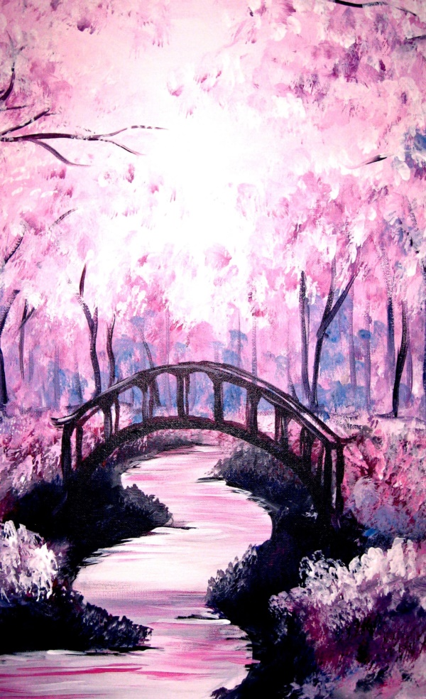 Ms Girl Wallpaper 70 Easy Acrylic Painting Ideas For Beginners To Try