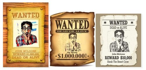 Wanted Effect Online - Wanted Poster Maker - Free Wanted Poster Creator - free wanted poster maker