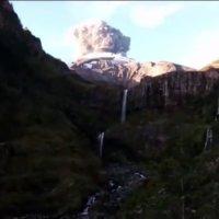 Vulkan-Ausbruch live gefilmt
