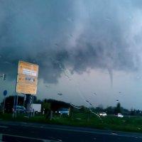 Tornado über Mecklenburg-Vorpommern