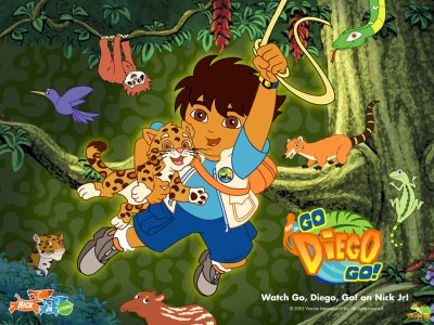 Go Diego Go Jungle Wallpaper - Go Diego Go Free Wallpaper - Cartoon Watcher - free Go Diego Go ...