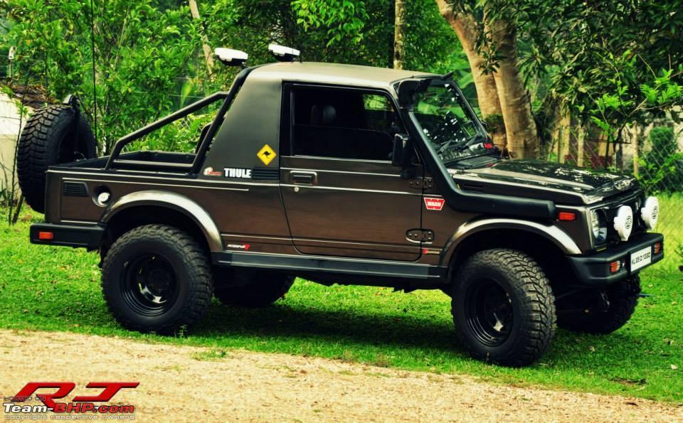 Dubai Police Car Wallpapers 5 Tastefully Modified Maruti Suzuki Gypsy Suvs Part Ii