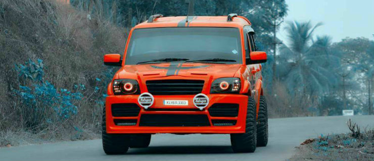 New Scorpio Car Wallpaper Hd 10 Modified Mahindra Scorpios From Awesome To Obnoxious