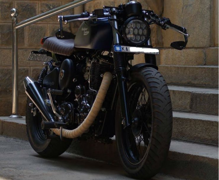 Royal Enfield Cafe Racer Hd Wallpaper 10 Gorgeously Modified Royal Enfields From Bulleteer Customs