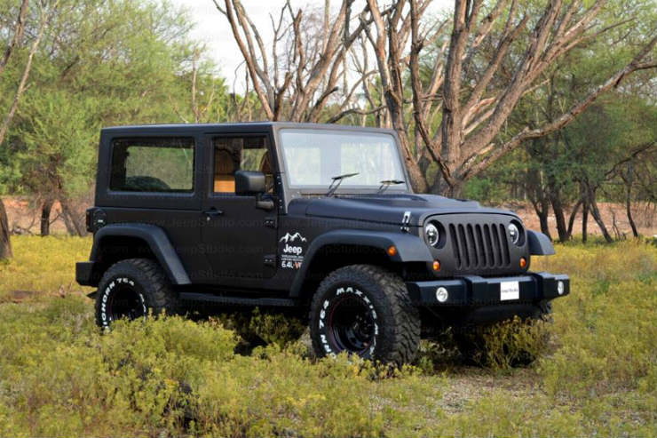 New Scorpio Car Wallpaper Hd 5 Best Thar To Wrangler Conversions In India