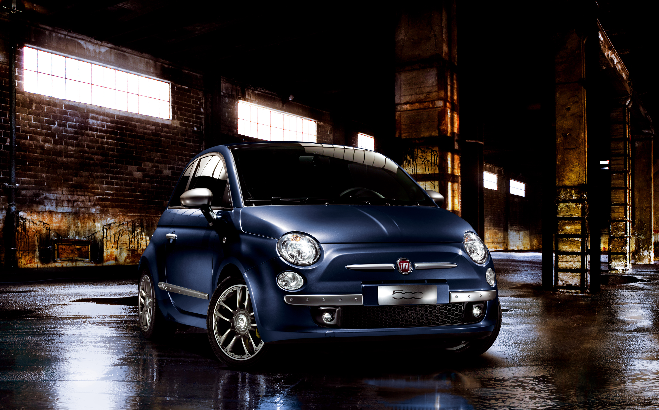 Indigo Car Wallpaper Fiat 500 By Diesel 2010 Cartype