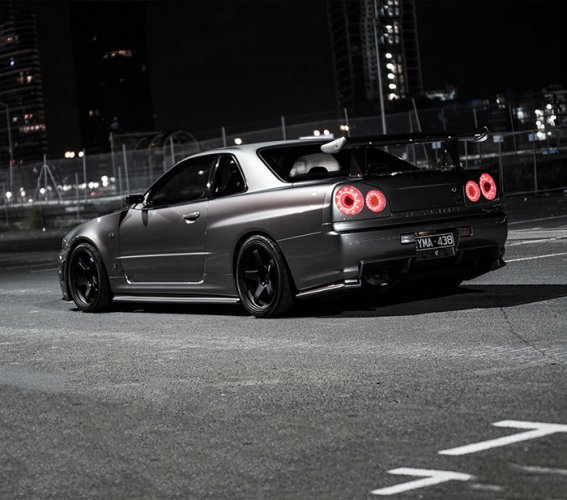 Go Get It Girl Laptop Wallpaper R34 Skyline Gt R The 1 000 Hp