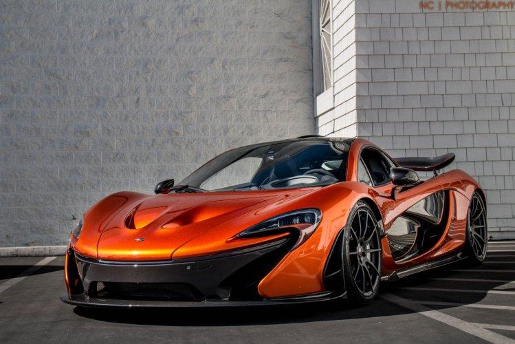 Supar Car Hd Wallpaper Volcano Orange Mclaren P1 Epic Sounds On The Track