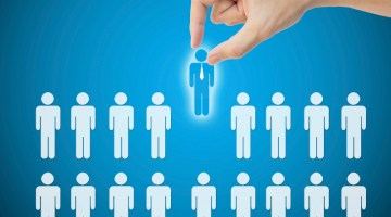 Select leader person career to work job