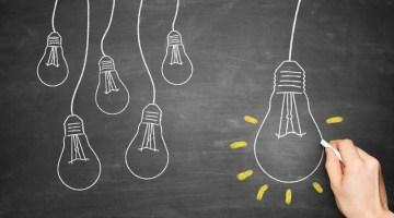 Lightbulb, new idea