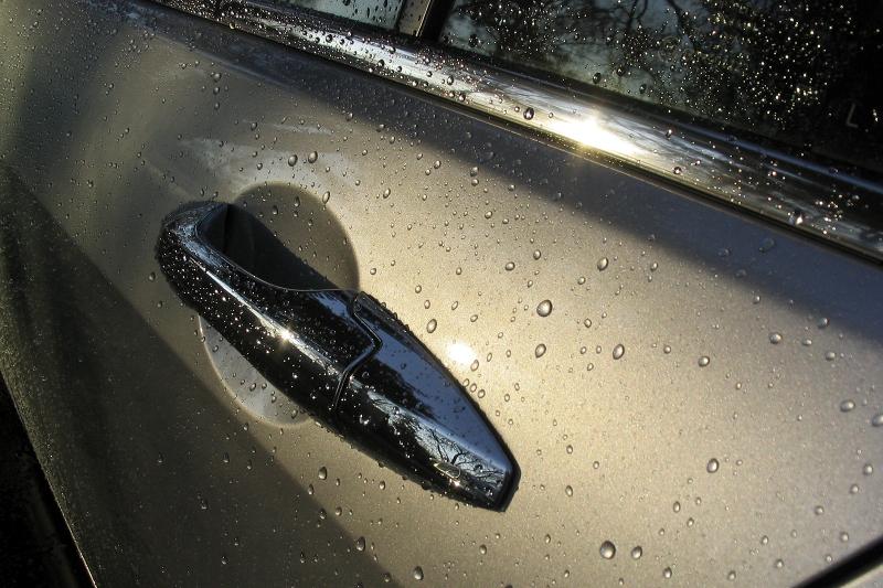 carwash, water drops