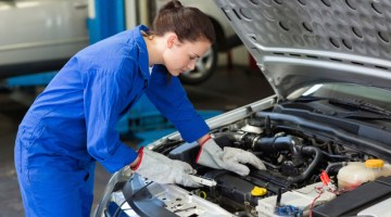 Mechanic, engine servicing, car care, auto repair, diagnostic test