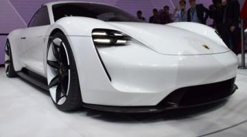 Porsche, modern car concept, vehicle innovation, mirrorless, no mirrors, high-end car, luxury, concept car