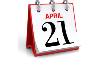 April 21, calendar, 21, April, event, day, date