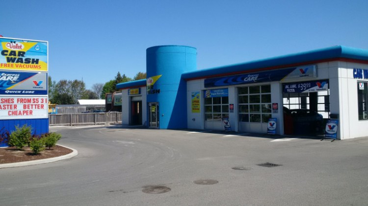 Valet Car Wash, new location, chatham, conveyor