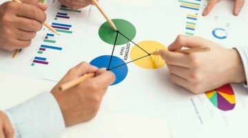 Customer, customers, graph, charts, pencil, meeting, business, management, strategy.