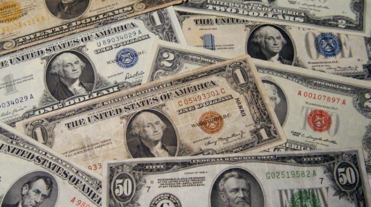 money, old money, dollar bills, two dollar bill, valuables, collectibles, one dollar bill, twenty dollar bill, fifty dollar bill