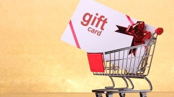 gift card, gift cards, shopping cart, holidays, gift, shopping, purchase, buy