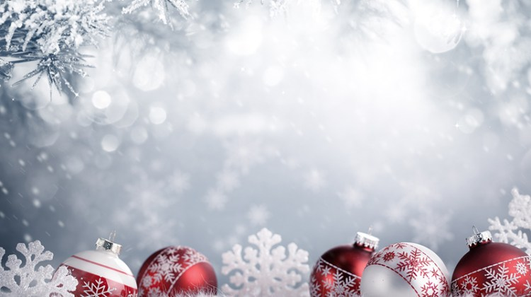 winter, decorations, ornaments, snow, garland, holiday
