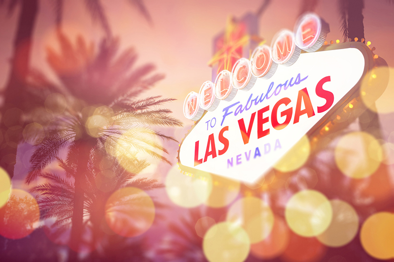 Las Vegas, sign, The Car Wash Show, palm trees, lights