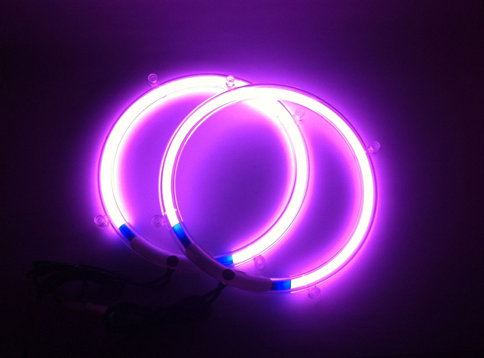 Mercury Hd Wallpaper 10 Inch Purple Neon Speaker Rings Glow Subwoofer