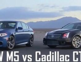 BMW M5 Vs.Cadillac CTS-V